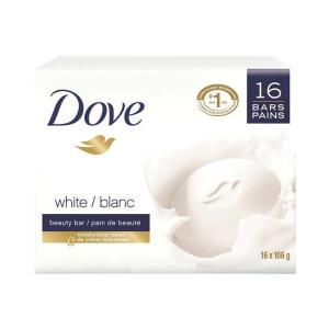 Carton (Pack de 16 pains de savon) de marque « Dove »