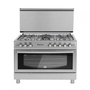 cuisiniere-ferre-5-feux-inox-90x60-f9p50g2